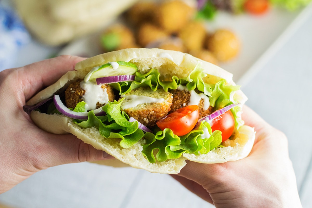 How to make the best falafel at home + authentic recipe | cookingtheglobe.com