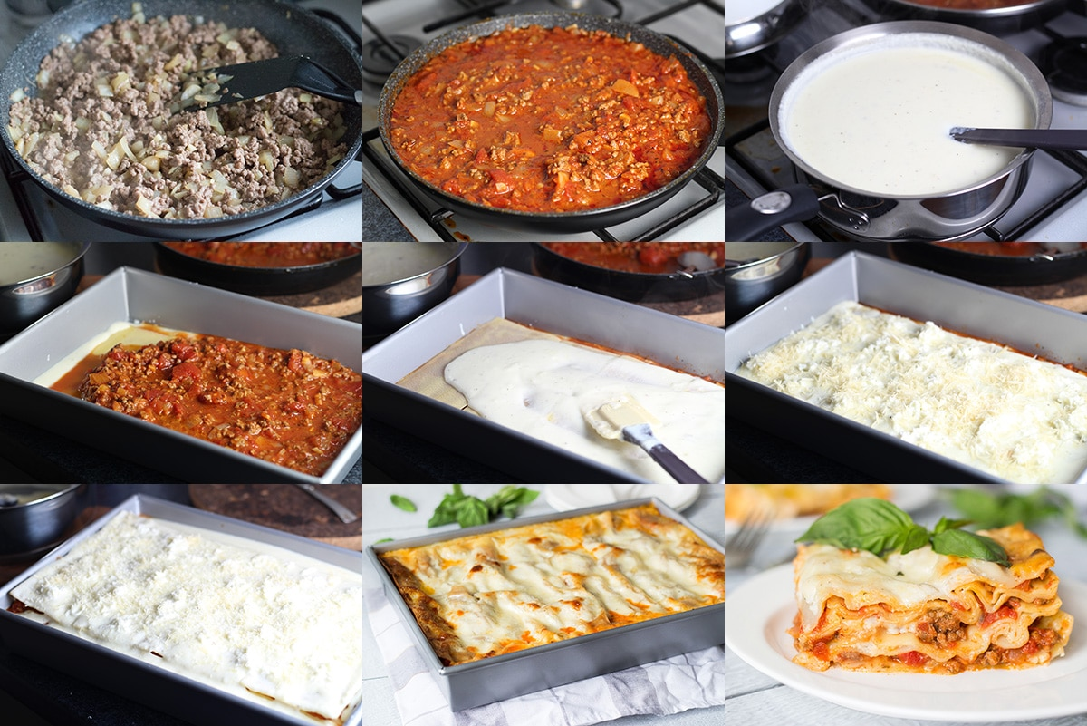 Pasticho is a Venezuelan version of lasagna. It's creamy, meaty and cheesy! | cookingtheglobe.com