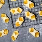 These Polish cream cheese cookies (Kolaczki or Kolacky) will be the best cookies you ever had! | cookingtheglobe.com