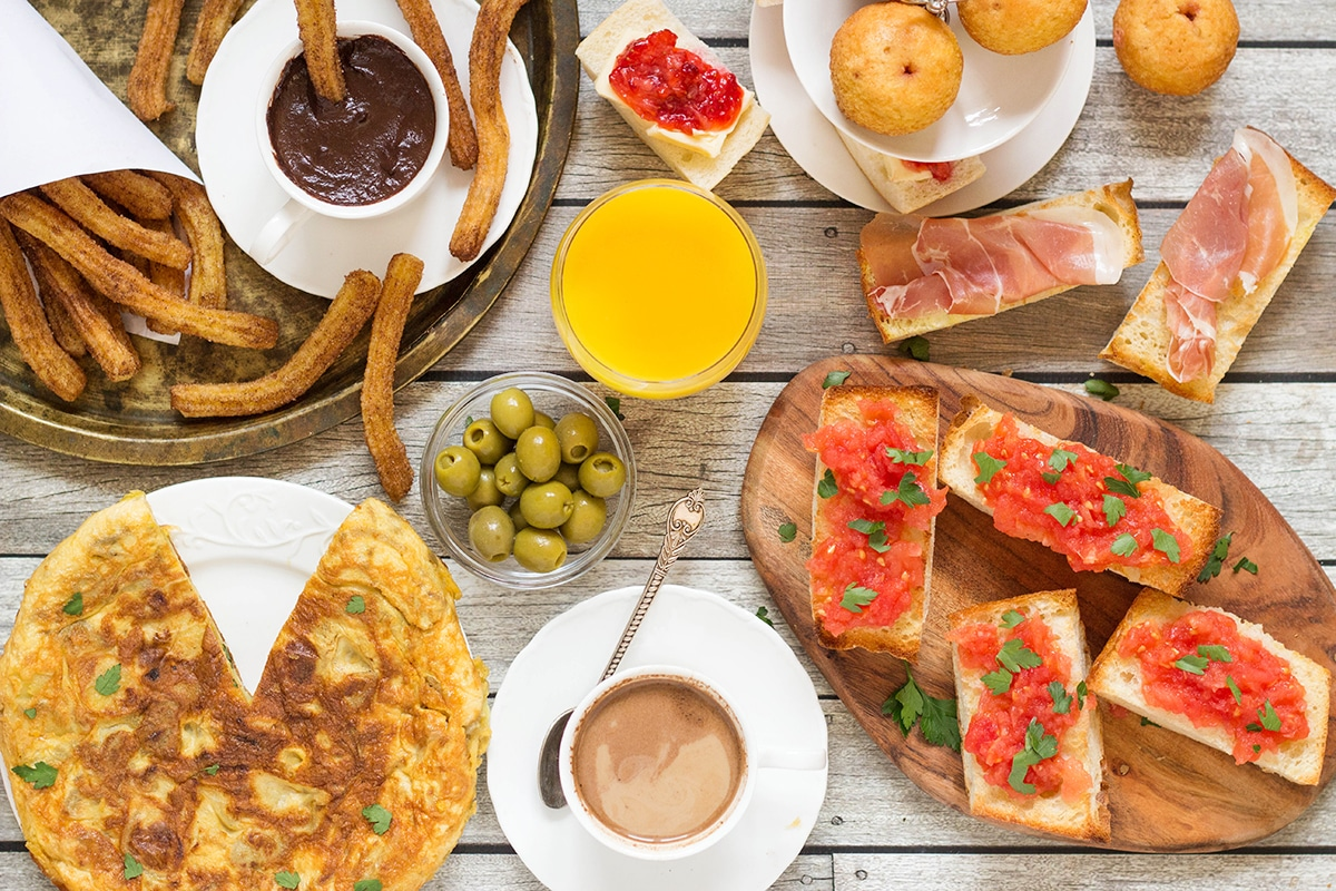 Spanish breakfast breakfast around the world 6 a look at the traditional spanish breakfast featuring the famous spanish potato omelette churros and forumfinder Image collections