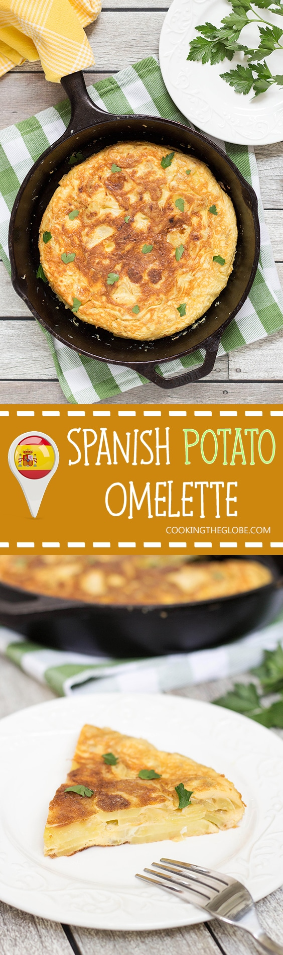 The famous Spanish Omelette (Tortilla) requires only few simple ...
