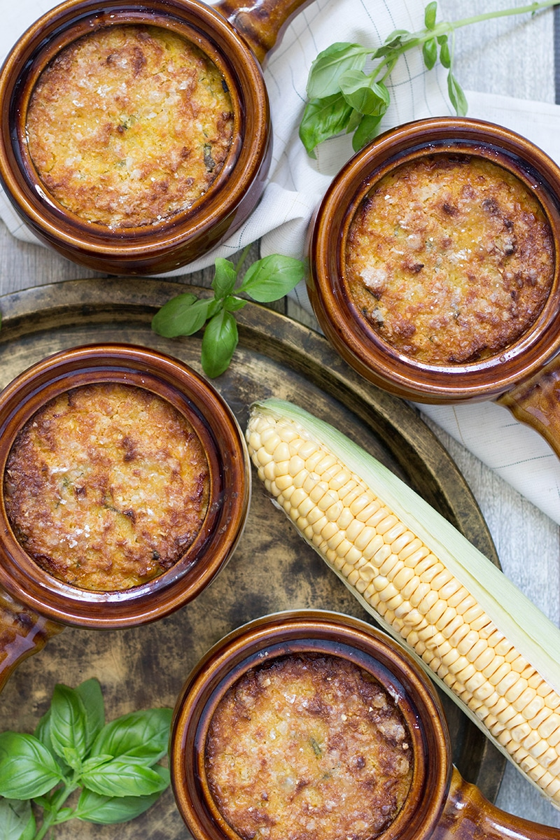 Pastel de Choclo is a famous South American pie, or casserole, stuffed with beef, chicken, eggs, and topped with a delicious corn paste! | cookingtheglobe.com