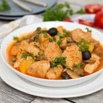 This traditional Puerto Rican Chicken Stew (Pollo Guisado) is easy and quick to make. Perfect as a weeknight dinner!   cookingtheglobe.com