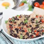 If you have never tried Gallo Pinto before, you don't know what you are missing. This Costa Rican Rice and Beans recipe will leave you craving for more! | cookingtheglobe.com
