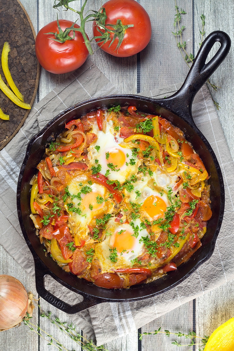 Shakshuka Recipe The Best Breakfast Egg Dish Ever