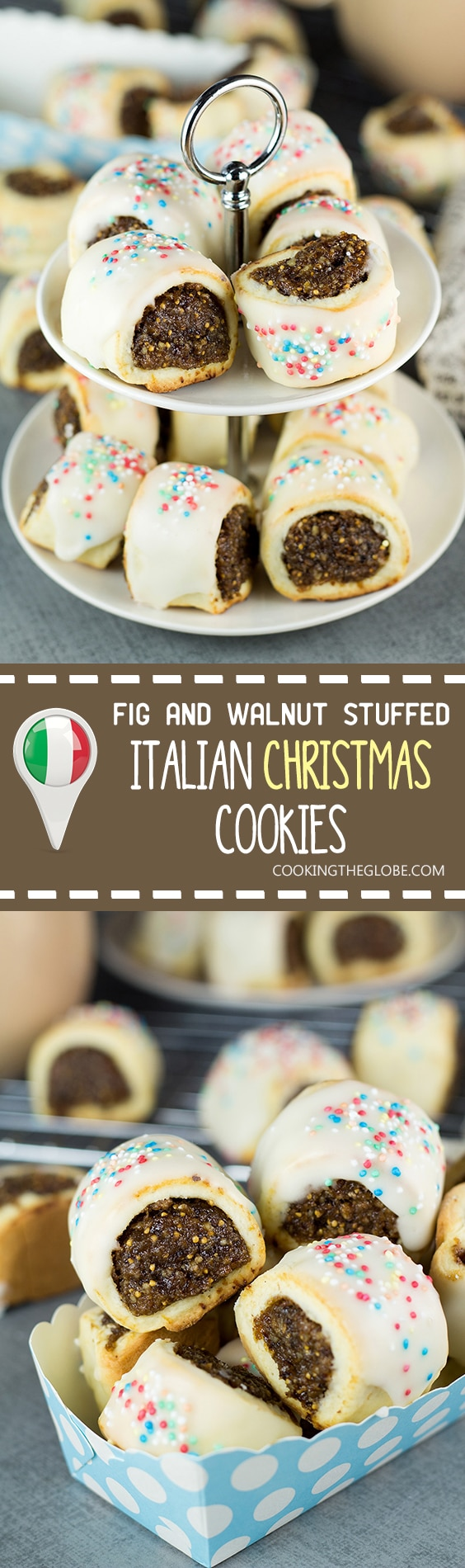 Italian Christmas Cookies With Figs Walnuts