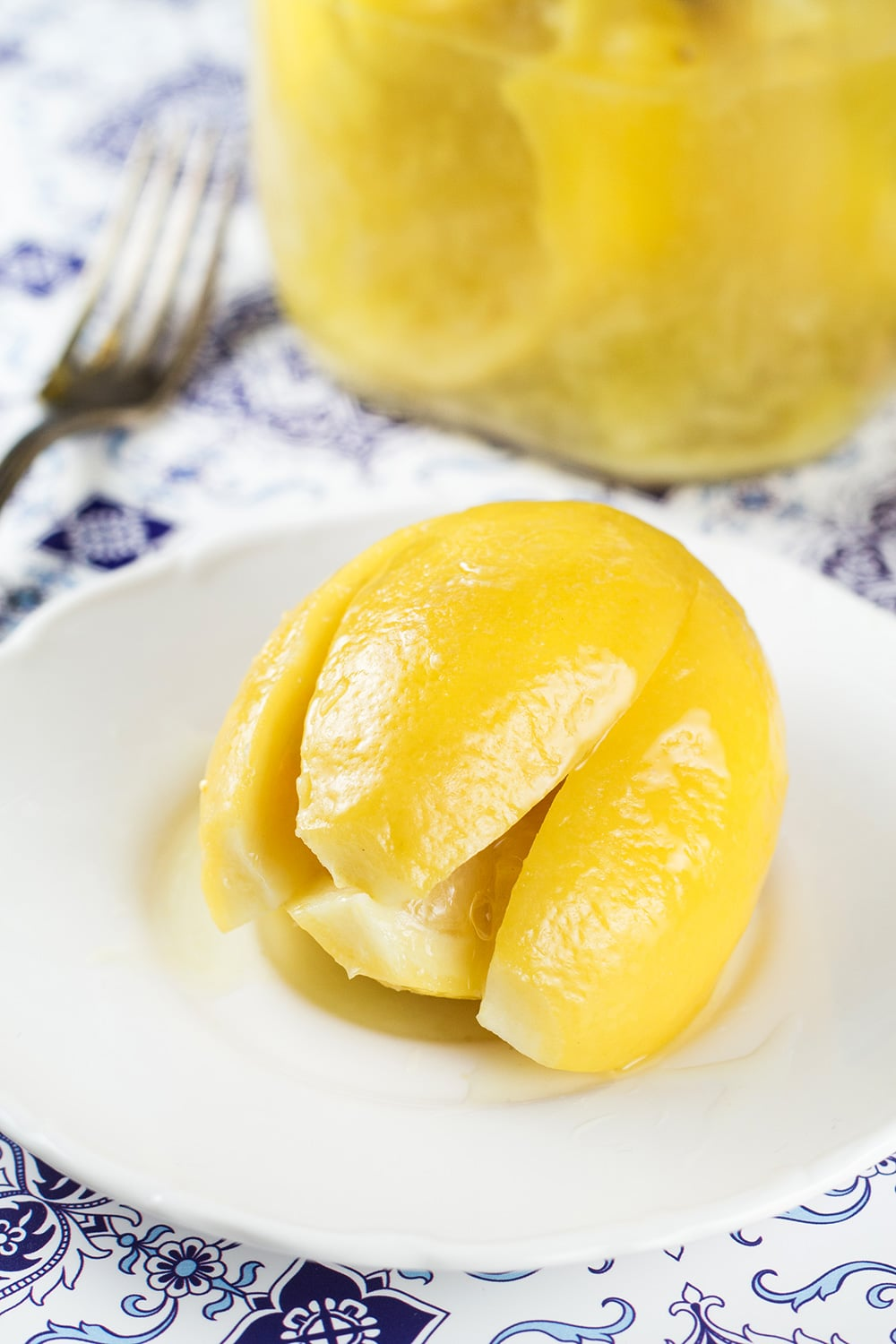 Moroccan Preserved Lemons are a must in every kitchen pantry. They require only 2 ingredients to make and can be used in an array of dishes! | cookingtheglobe.com