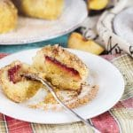 If you love gnocchi, you have to try these Hungarian Plum Dumplings! Made with mashed potatoes and featuring a plum inside, they make a great dessert or a side dish! | cookingtheglobe.com