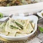 Maultaschen is a German version of Italian ravioli dumplings, only way bigger. This recipe features two different fillings: a traditional and a modern one!   cookingtheglobe.com
